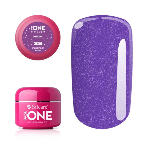 Base One - UV COLOR GEL - Neon - 32. Purple Mist