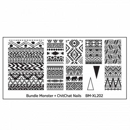 Bundle Monster - Blogger Collaboration - BM-XL202, ChitChat Nails
