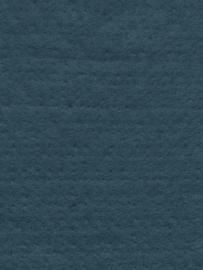 Naaldvlies 19,5 micron, petrol kleur 74, 120 cm breed per halve meter