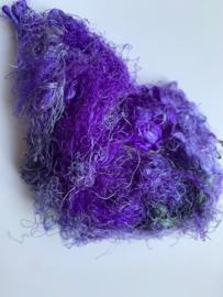Zijde waste, 5 gram, paars zwartig, nummer 67