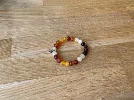 Armband, 8 mm edelstenen, nummer 2