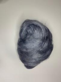 Vlas grijs blauw , 10 gram