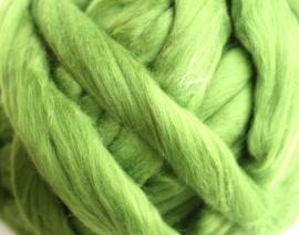 Merinowol (50 gram), mosgroen, kleurcode 122, 20-21 micron