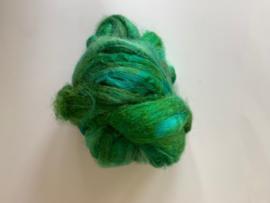 zijden lont, 3 gram, nummer 86 groen turquoise