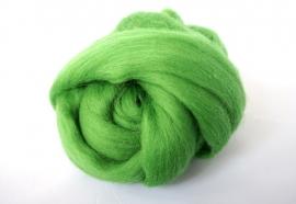Merinowol (50 gram), lente groen, kleurcode 244, 24-25 micron