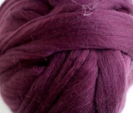 Merinowol (50 gram), aubergine, kleurcode 112, 20-21 micron