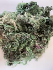 Gotland krullen, nummer 26 groen tinten per 20 gram