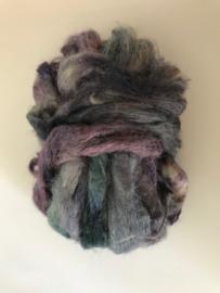 zijden lont, 3 gram, nummer 81 grijs paars