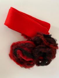 Sierraad pakket 9, rood zwart