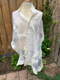 Margilan zijde shawl 45x195 lang