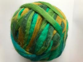 Potloodlont, groen turquoise oker, 10 gram