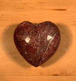 Rhodoniet hart, nummer 1, ca.45 gram