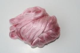 Moerbei zijdenlont  licht rose,  10 gram