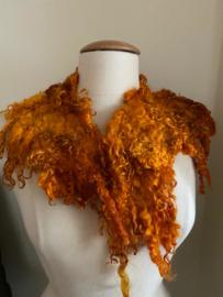 Wensleydale kraag, oranje