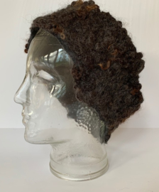 Haarband wensleydale krullen, 54 cm omvang