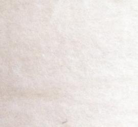 Nieuw Berg schaap, in vlies, ecru, per 100 gram 30-32micron