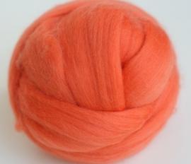 Merinowol (50 gram), manderijn, kleurcode 147, 20-21 micron