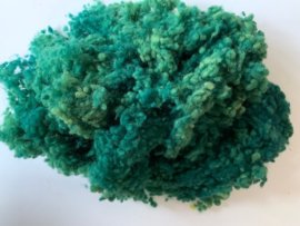 Wool nepps/ wolkogels merino, nummer 15 groen, 10 gram