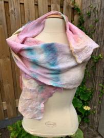 Margilan zijde shawl 40x210 cm lang