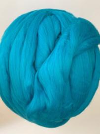 Merinowol (50 gram), turqiouse, kleurcode 386 extra fijn, 18,5 micron
