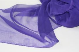 Chiffon zijde 3.5, paars, 110 breed, per meter, 14g/m, prijs