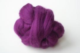 Merinowol (50 gram), brombeer, kleurcode 243, 24-25 micron