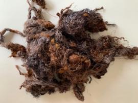 Zijde waste, 5 gram, grijs bruin, nummer 89