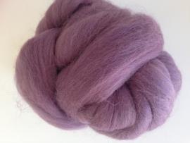 Merinowol (50 gram), licht lavendel, kleurcode 231, 24-25 micron