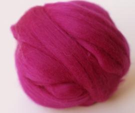Merinowol (50 gram), purper violet, kleurcode 167, 20-21 micron