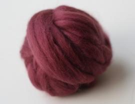 Merinowol (50 gram), rozenhout, kleurcode  224, 24-25 micron