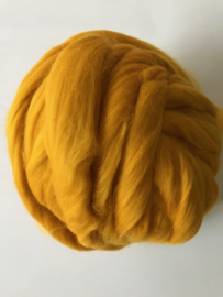 Merinowol (50 gram), zonnegeel, kleurcode 105, 20-21 micron