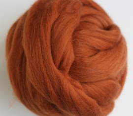 Merinowol (50 gram), cognac, kleurcode 116, 20-21 micron
