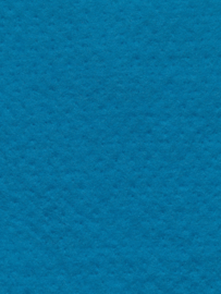Naaldvlies 19,5 micron, donker turquiose kleur 65, 120 cm breed per 50 cm