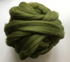 Merinowol (50 gram), waldgroen, kleurcode 237 extra fijn, 18 micron