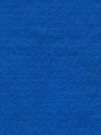 Naaldvlies 19,5 micron, konings blauw kleur 71, 120 cm breed per meter