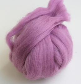 Merinowol (50 gram), helder paars, kleurcode 136, 20-21 micron