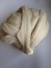 Alpaca wol, ecru, 50 gram