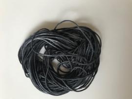 Zijde draad dik , grijs tinten, per 5 meter, nummer 29