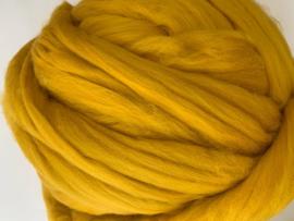 Merinowol (50 gram), mosterd, kleurcode 321 extra fijn, 18,5 micron