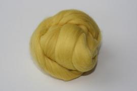 Merinowol (50 gram), citroen geel, kleurcode 139, 20-21 micron