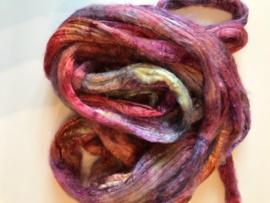 zijden lont, 3 gram, nummer 17 rosé paars 2