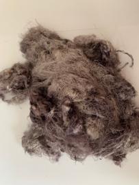 Zijde waste, 5 gram, grijs bruin, nummer 82