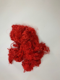 Zijde waste, 5 gram, rood, nummer 91