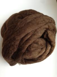 Brasiliaanse wol, bruin , 50 gram