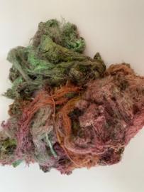 Zijde waste, 5 gram, multi, nummer 77