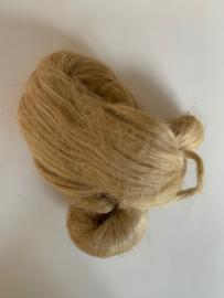 Vlas natuur extra lange vezel, per 10 gram