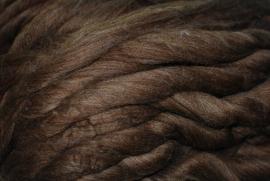 Portugese merino wol, bruin, 50 gram