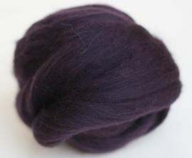 Merinowol (50 gram), pruimen, kleurcode 157, 20-21 micron