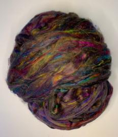 Sari zijden, multi multi, per 10 gram, prijs