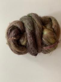 zijden lont, 3 gram, nummer 98 mauve